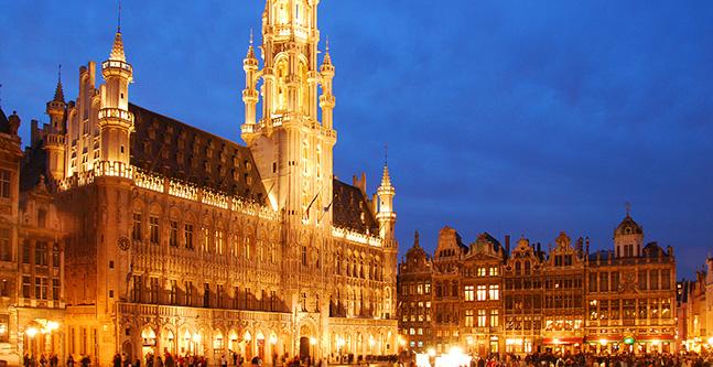 Hyrbil i Bryssel