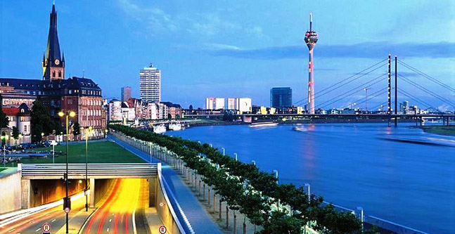 Rent a car in Dusseldorf