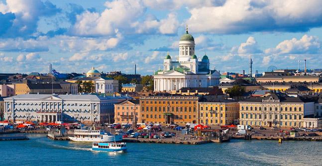 Huur een auto in Helsinki